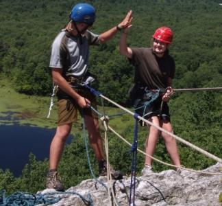 Climb to the top at W Alton Jones Camps!
